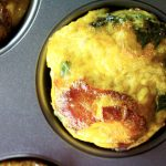 3-Ingredient Bacon & Egg Breakfast Muffins