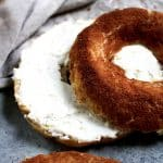 Low-Carb Cinnamon Sugar Bagels