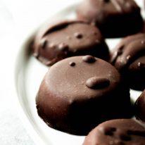 Dark Chocolate Peppermint Patty Fat Bombs