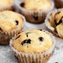 Low-Carb Chocolate Chip Muffins