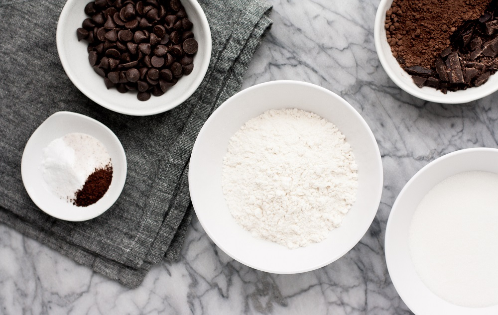 dry-ingredients-for-Low-Carb-Triple-Chocolate-Zucchini-Muffins