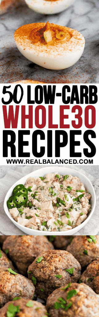 pinterest-pin-for-50-Low-Carb-Whole30-Recipes