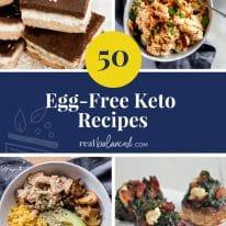 50 Egg-Free Keto Recipes
