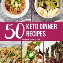 50 Keto Dinner Recipes