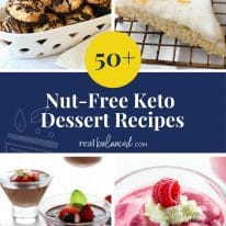 50+ Nut-Free Keto Dessert Recipes