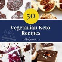 50 Vegetarian Keto Recipes