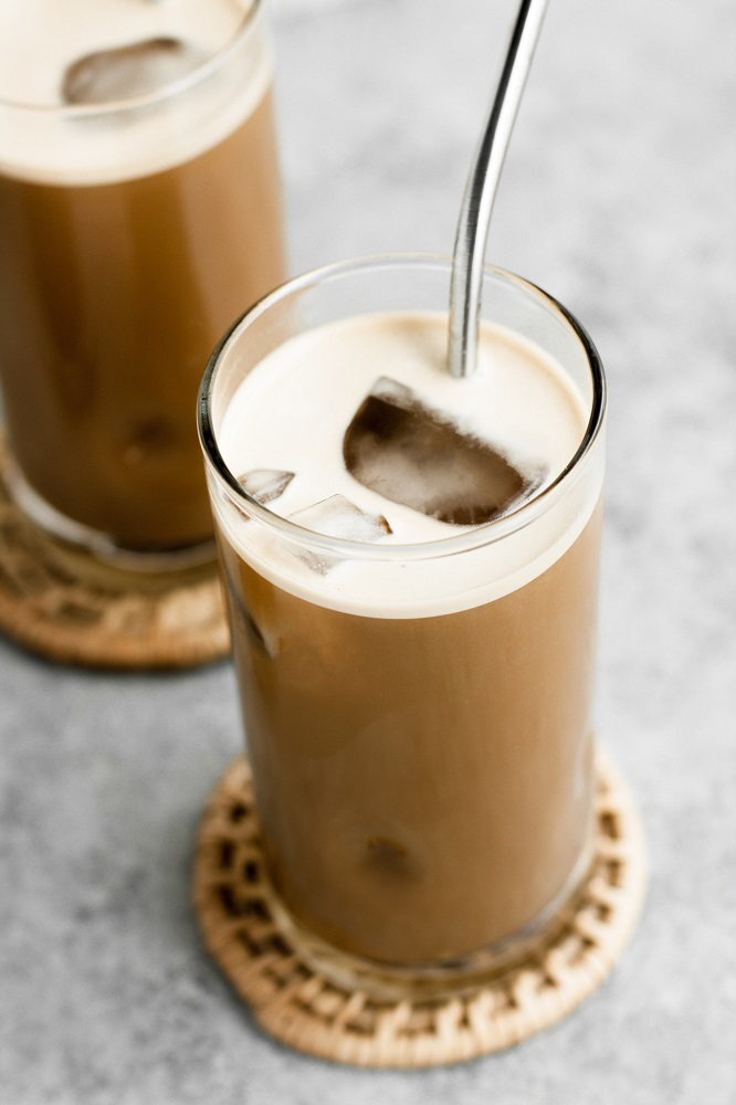 collagen-packed creamy coffee