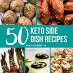 50 Keto Side Dish Recipes