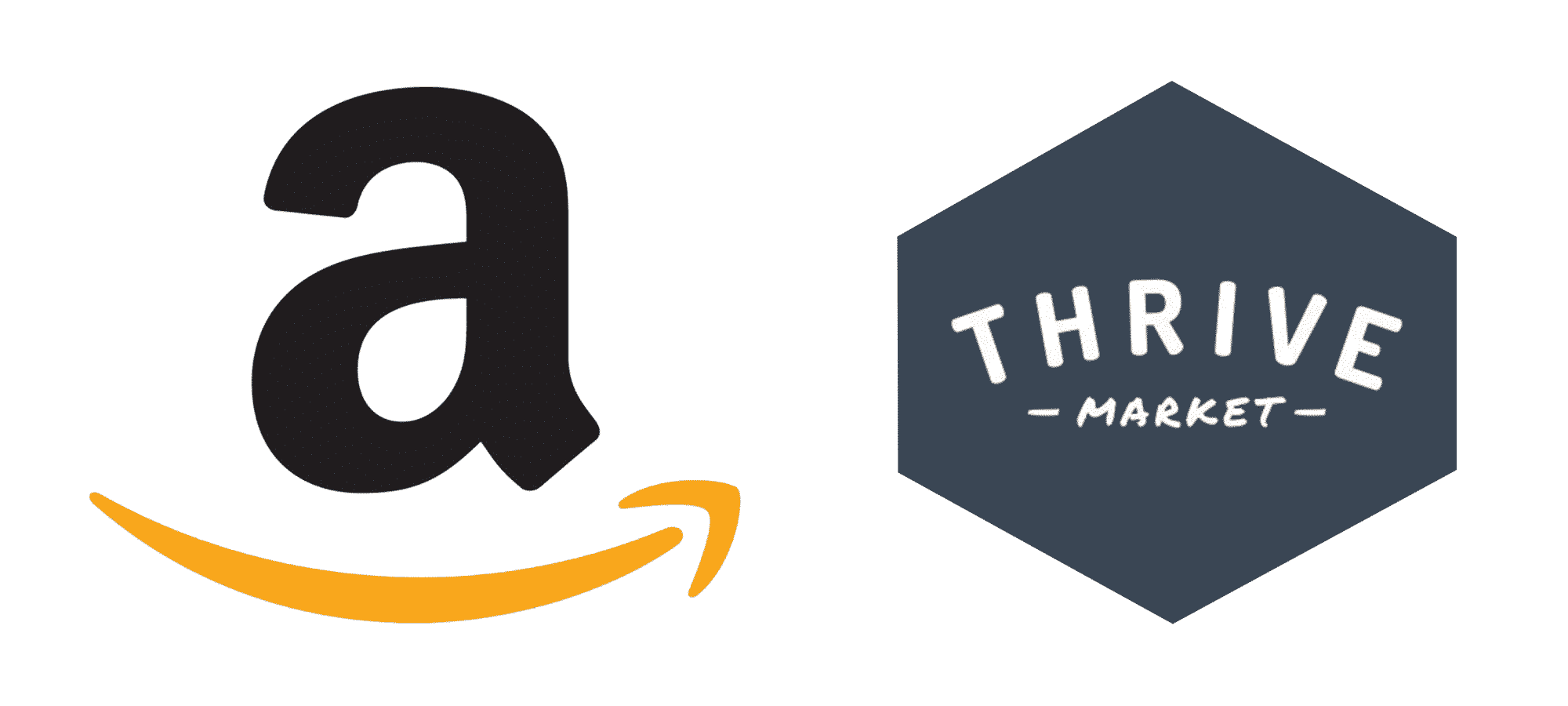 Amazon and Thrive logos