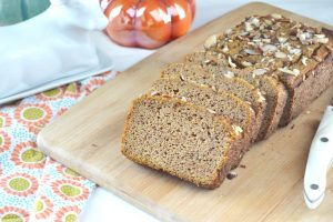 Chai-Spiced-Pumpkin-Bread-on-a-wooden-board