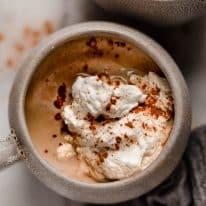Keto Cinnamon Dolce Latte