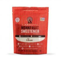 a bag of lakanto classic monk fruit sweetener