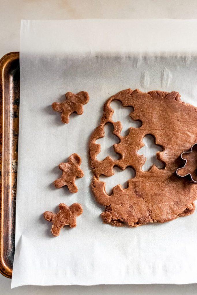 keto-gingerbread-men-cut-from-dough