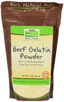 a bag of beef gelatin powder
