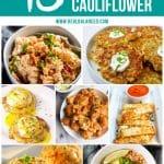 45 Keto Recipes Including Cauliflower
