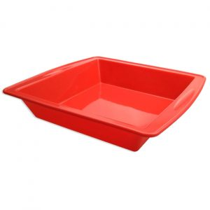 red Silicone Cake Pan (8.5