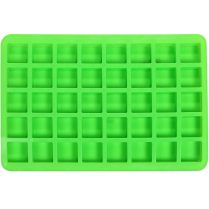 one green Silicone mold (40-cavity mini squares)