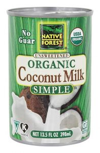 Native Forest Coconut Milk Simple
