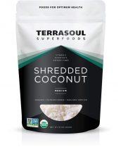 terrasoul superfoods shredded coconut