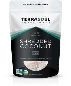 terrasoul superfoods shredded coconut