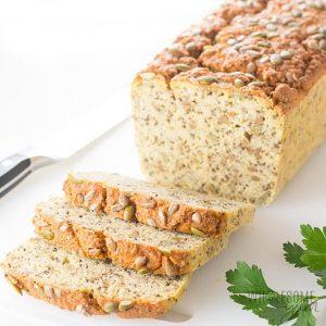 Sliced Keto Low Carb Coconut Flour Bread