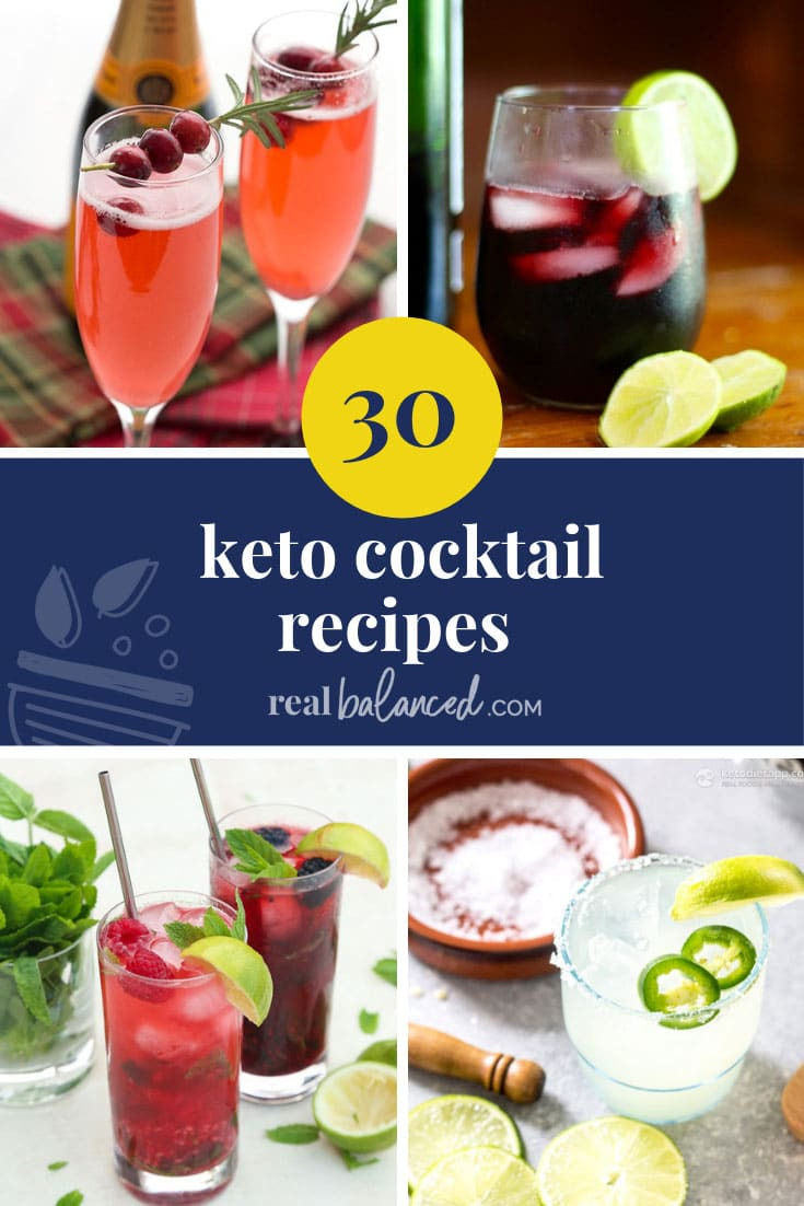 30 Keto Cocktail Recipes