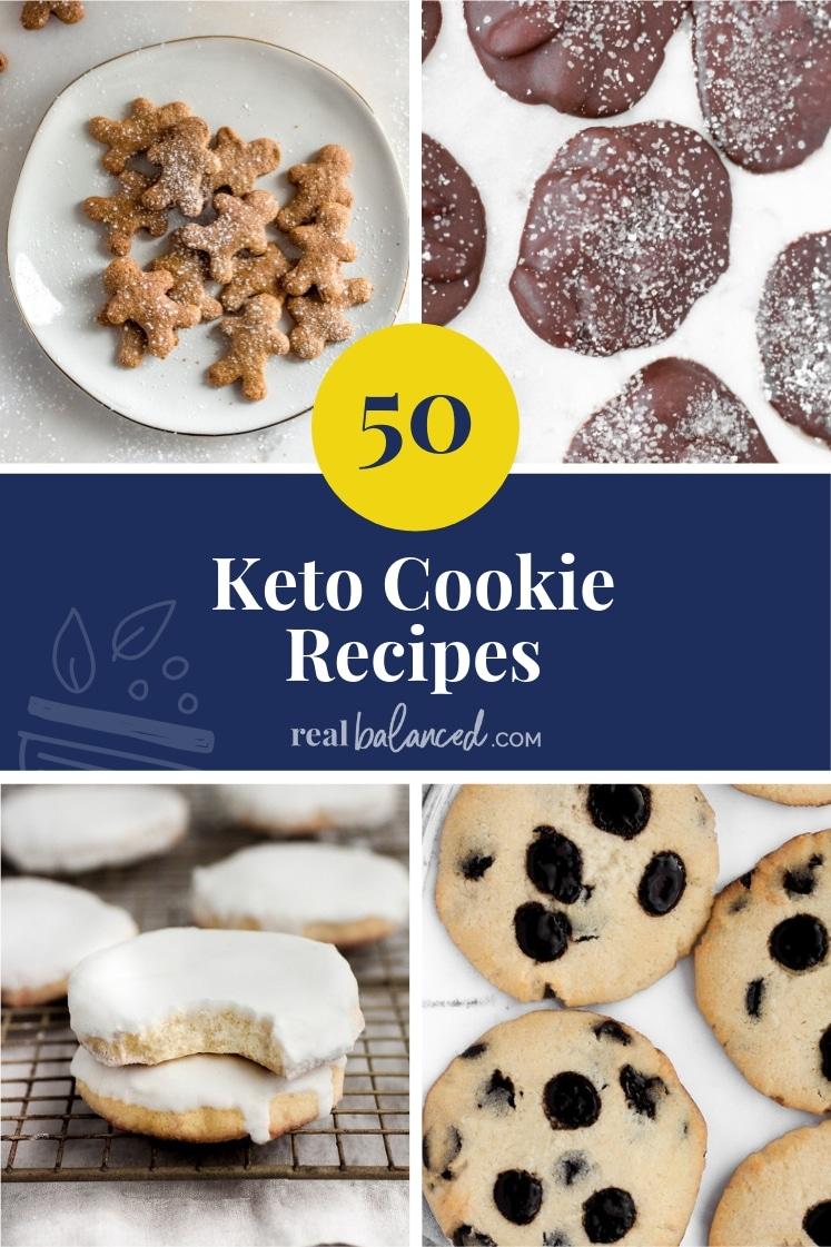 50 Keto Cookie Recipes Real Balanced