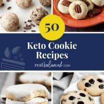 50 Keto Cookie Recipes