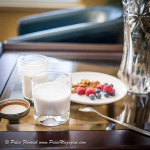 Instant Pot Coconut Yogurt ingredients atop a coffee table