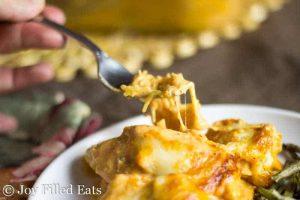 Creamy Tomato Chicken & Spaghetti Squash Casserole