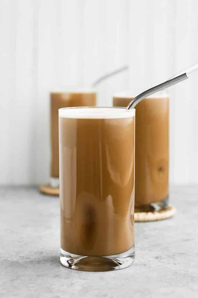 Nut-Free Dairy-Free Creamy Cold Brew Keto Coffee