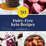 50 Dairy-Free Keto Recipes pinterest pin