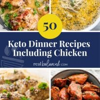 50 Keto Dinner Recipes Including Chicken