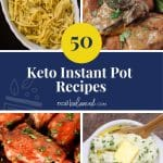 50 Keto Instant Pot Recipes pinterest image