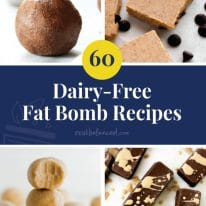 60 Dairy-Free Fat Bomb Recipes