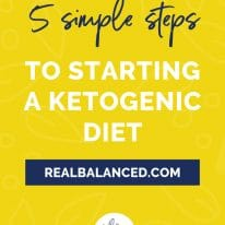 5 Simple Steps to Starting a Ketogenic Diet