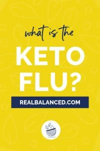 what is the keto flu blog post pinterest graphic