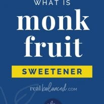 What is Monk Fruit Sweetener?