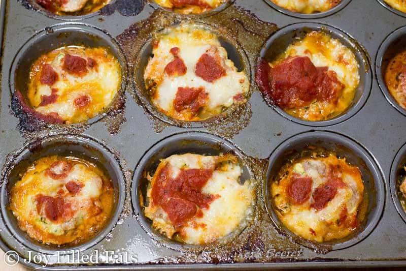 Mini Mozzarella Stuffed Italian Meatloaf