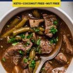 Instant Pot Beef Stew Recipe Pinterest Image