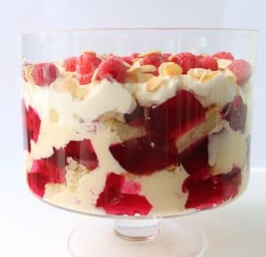 Keto Trifle - Raspberries & Cream