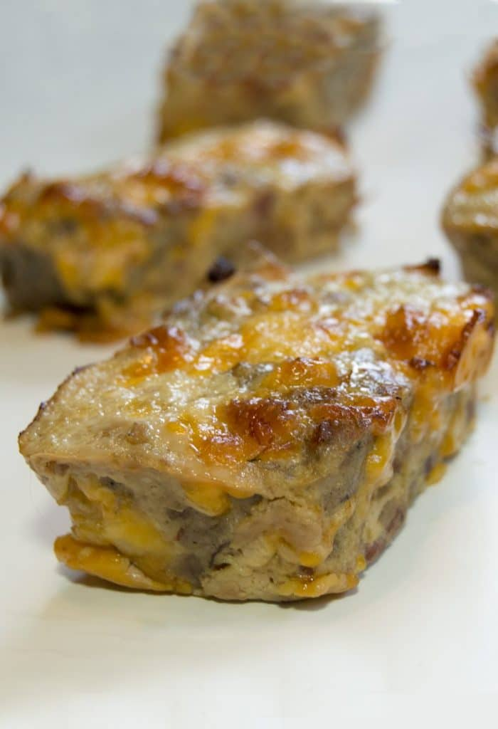 Mini Keto Breakfast Meatloaves
