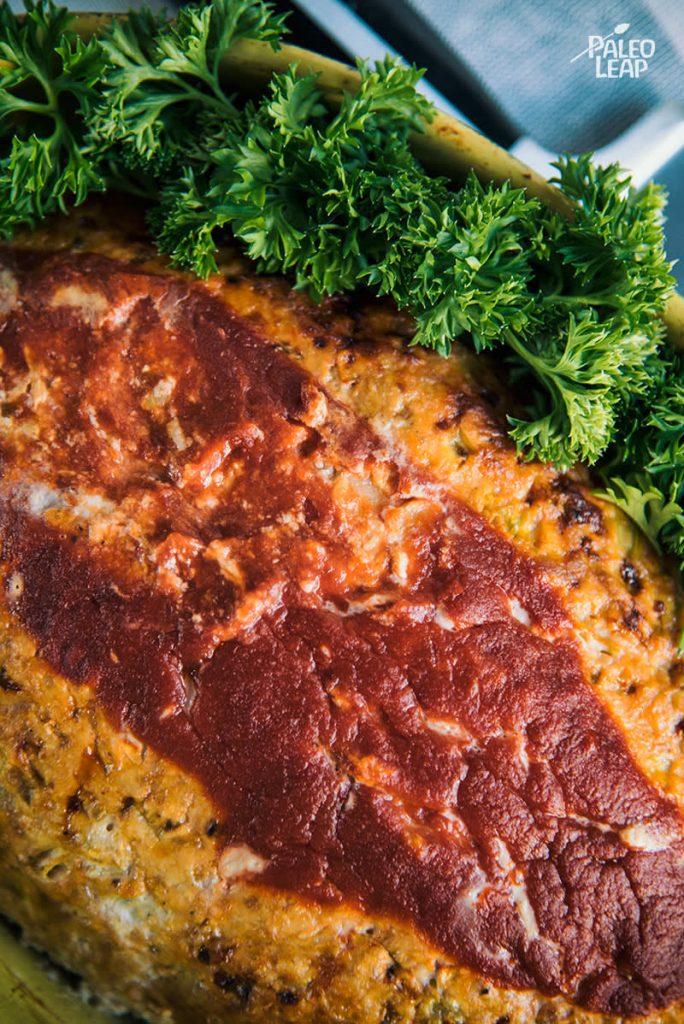 Buffalo Chicken Meatloaf