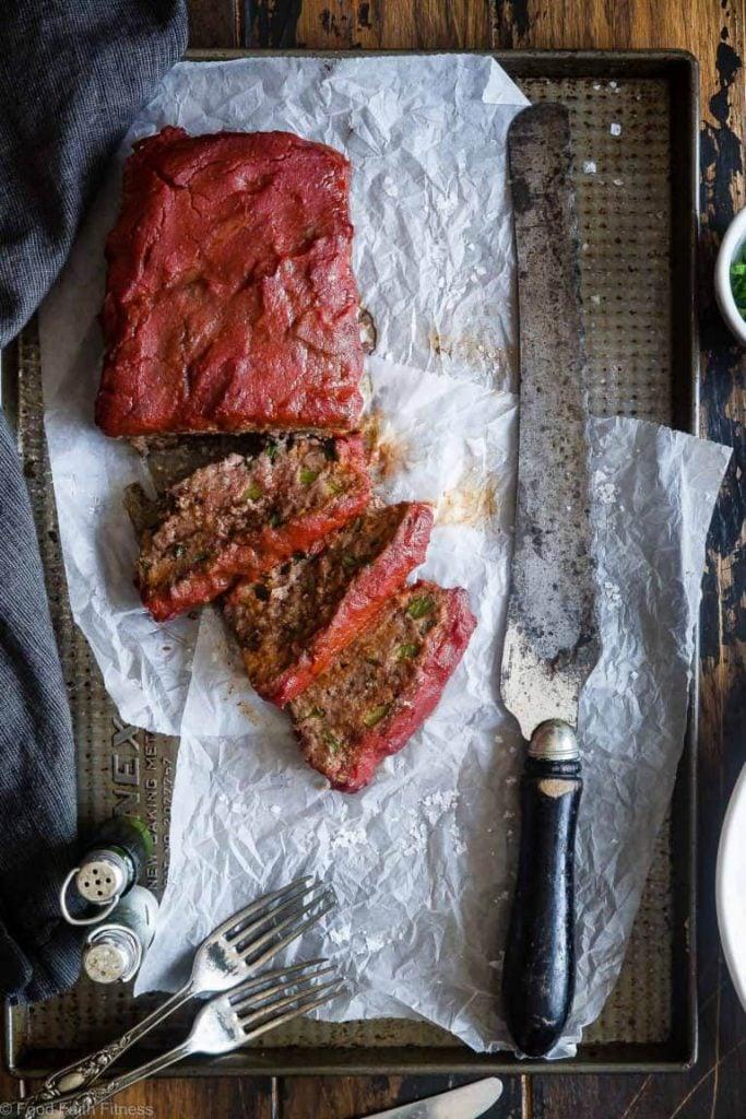 Easy Low Carb Paleo Meatloaf