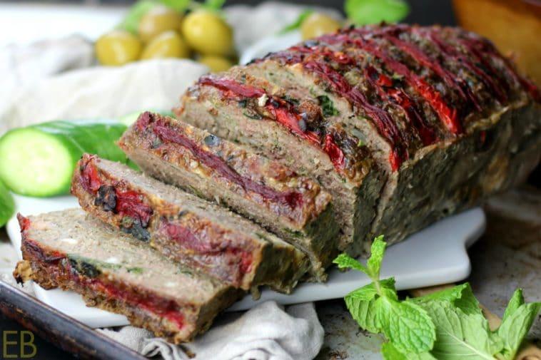 Paleo and Keto Greek Meatloaf