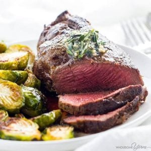 The Best Filet Mignon with Garlic Herb Butter