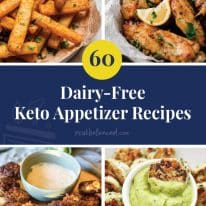 60 Dairy-Free Keto Appetizers