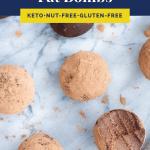Chocolate Truffle Fat Bombs Pinterest Pin