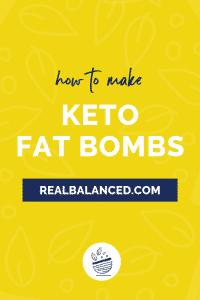 How to Make Keto Fat Bombs 3
