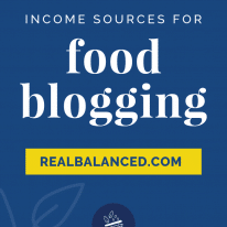 Income Sources for Food Blogging